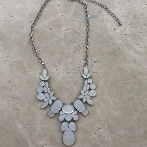 Jewelry - White Resin Bead Necklace